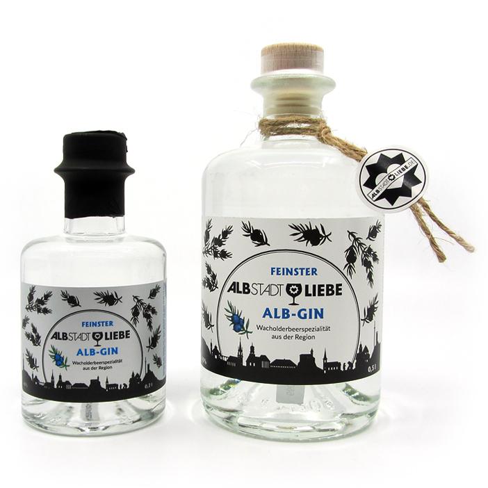 Alb-Gin 0,2 und 0,5 Liter