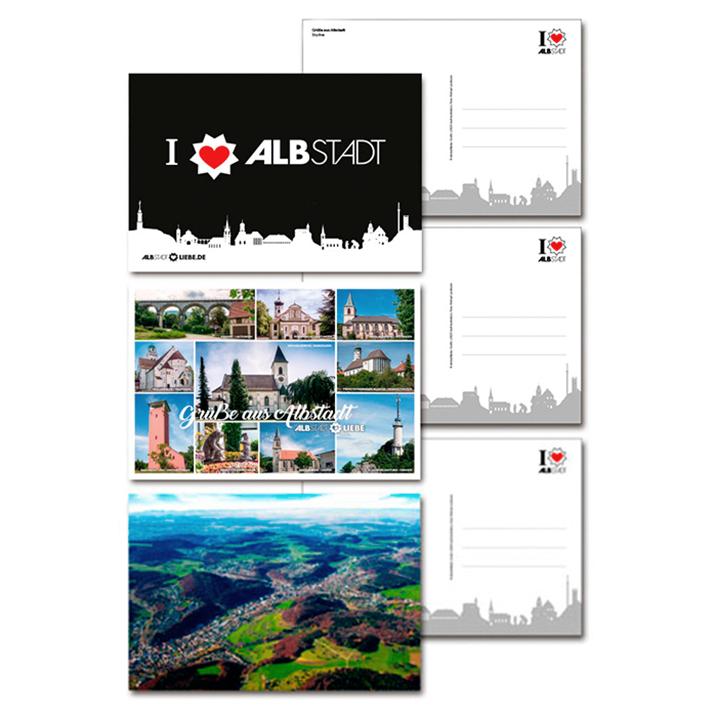 Postkarten von AlbstadtLiebe