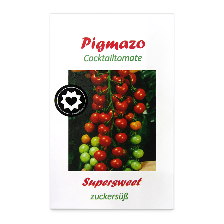 Pigmazo Cocktailtomaten-Samen bei AlbstadtLiebe