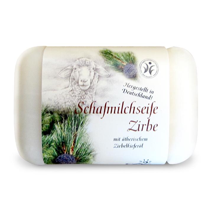 Schafmilchseife mit Zirbelkieferöl von Saling Naturprodukte