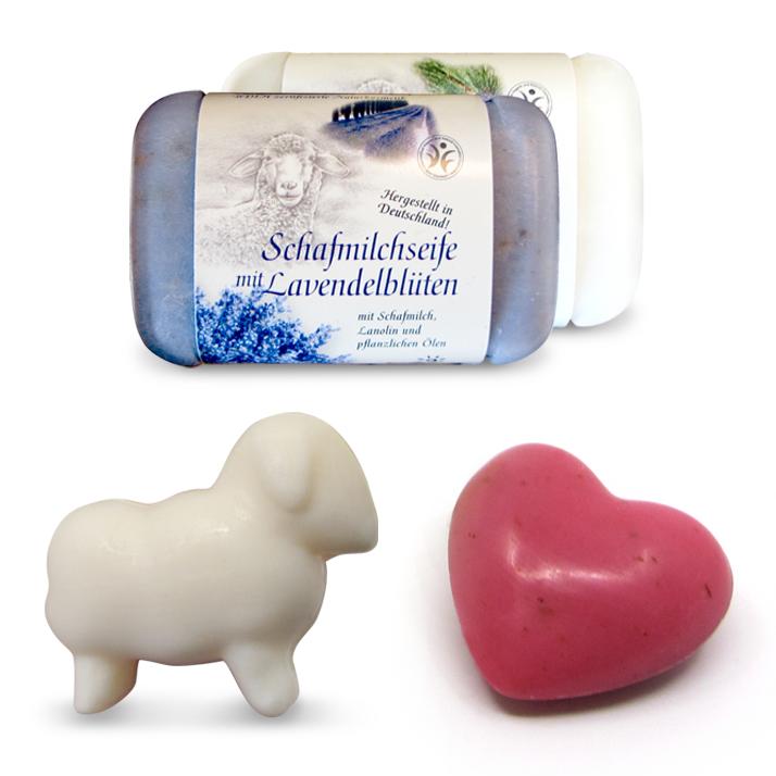 Schafmilchseifen von Saling Naturprodukte