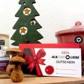 Gutschein von AlbstadtLiebe als Weihnachtsgeschenk