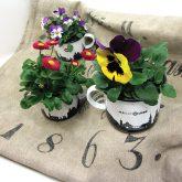 Das ideale Geschenk: Blumen in unserem Emaillebecher