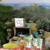 Bunte Keramik aus Albstadt-Onstmettingen
