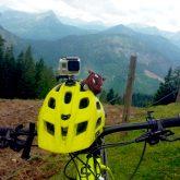 Garry Grunz als Maskottchen bei einer Alpenüberquerung